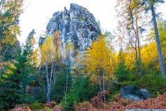 De witte rotsen Royalty-vrije Stock Afbeeldingen