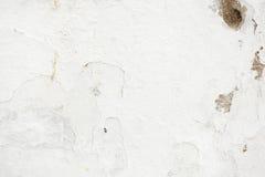 De witte Rustieke Textuur van de Schilverf Royalty-vrije Stock Foto's