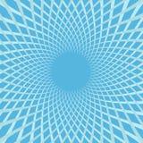 De witte snelheid van de kleuren spiraalvormige bloem Kleurrijke heldere de lijnreeks van de wervelingsbeweging Cirkel gloeiend m royalty-vrije illustratie