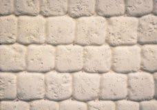 De witte steen van de textuurmuur Royalty-vrije Stock Afbeeldingen