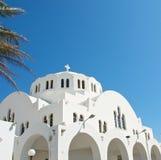 De witte Tempel. Stock Afbeelding