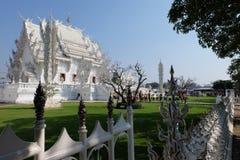 De witte tempel Royalty-vrije Stock Afbeeldingen