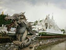 De witte tempel Stock Afbeeldingen