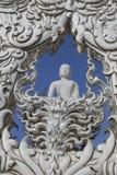De witte tempel in Chiang Rai, Thailand Royalty-vrije Stock Afbeelding