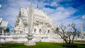 De Witte Tempel in Chiang Rai Thailand South East Azië royalty-vrije stock afbeelding
