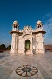 De witte tempel van Thada van Jaswant Stock Afbeeldingen