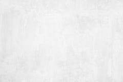 De witte textuur van de grunge concrete muur Stock Afbeelding