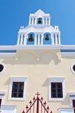 De witte toren. Stock Foto