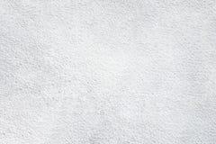De witte van de het cementbetonconstructie van de muurtextuur van het de steen stevige pleister ruwe oppervlakte Stock Foto's