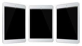 De witte Vectorillustratie van de Tabletcomputer Stock Afbeelding