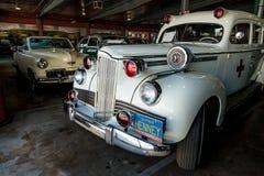 De witte Ziekenwagen van Packard van 1942 Royalty-vrije Stock Afbeelding