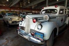 De witte Ziekenwagen van Packard van 1942 Royalty-vrije Stock Foto's