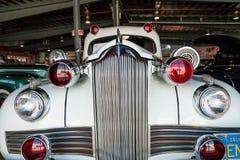 De witte Ziekenwagen van Packard van 1942 Stock Fotografie