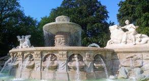 De Wittelsbacher-fonteinen royalty-vrije stock afbeelding