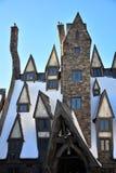 De Wizarding-Wereld van Harry Potter in Universele Studio, Osaka Stock Fotografie