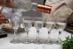 De wodka Royalty-vrije Stock Afbeeldingen