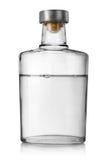 De wodka van de fles stock afbeeldingen