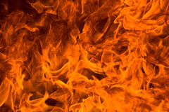 De woede van de brand stock afbeeldingen
