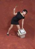 De woede van de computer Royalty-vrije Stock Fotografie