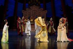 De woede van de keizer van de tweede handeling van Tang Dynasty-The: een feest in de van het paleis-heldendicht de Zijdeprinses ` royalty-vrije stock afbeeldingen
