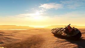 De woestijn stock afbeeldingen