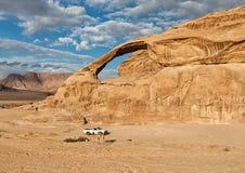 In de woestijn royalty-vrije stock afbeelding