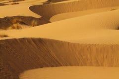 De Woestijn Marokko van de Sahara Royalty-vrije Stock Foto's