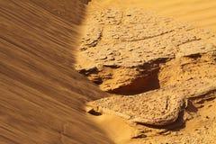 De Woestijn Marokko van de Sahara Stock Afbeelding