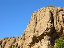 De woestijn schommelt Twee royalty-vrije stock afbeeldingen