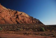 De woestijn van Arizona Stock Afbeeldingen