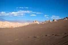 De woestijn van Atacama Stock Foto's