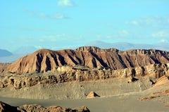 De woestijn van Atacama stock afbeelding