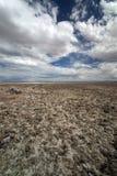 De woestijn van Atacama in Chili Royalty-vrije Stock Afbeeldingen