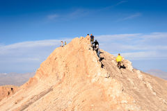De woestijn van Atacama in Chili Stock Afbeelding