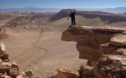 De Woestijn van Atacama in Noordelijk Chili royalty-vrije stock afbeelding