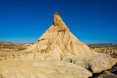 De woestijn van Bardenas Royalty-vrije Stock Afbeeldingen