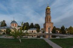 De woestijn van beklimmingsdavid Het klooster van het bisdom van Moskou van de Russische Orthodoxe Kerk Stock Foto's