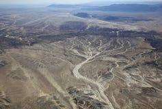 De Woestijn van Californië Stock Foto's