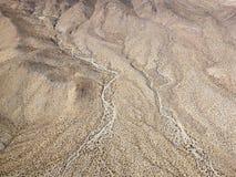 De woestijn van Californië stock fotografie