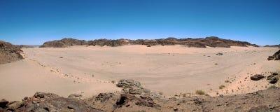 De woestijn van de Kust van het Skelet stock foto's