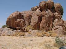 De woestijn van de rots Royalty-vrije Stock Foto's