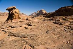 De woestijn van de Rum van de wadi stock foto