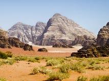 De woestijn van de Rum van de wadi Stock Afbeelding