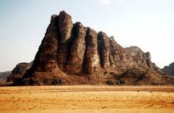 De woestijn van de Rum van de wadi Royalty-vrije Stock Afbeeldingen