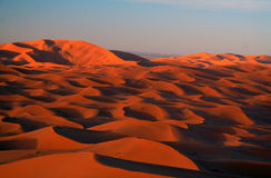 De Woestijn van de Sahara Royalty-vrije Stock Afbeeldingen