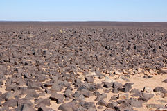De Woestijn van de Sahara, Libië Royalty-vrije Stock Foto's