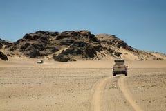 De Woestijn van de skeletkust in Namibië royalty-vrije stock afbeelding