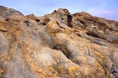 De woestijn van de steen Stock Afbeeldingen