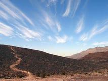 De woestijn van de steen royalty-vrije stock afbeelding