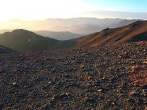 De woestijn van de steen Royalty-vrije Stock Foto's